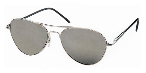 mirrored aviator sunglasses l7py  Brad Pitt Mirrored Aviator Sunglasses