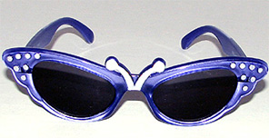 Here is a picture of our Rhinestone Butterfly Kids Sunglasses