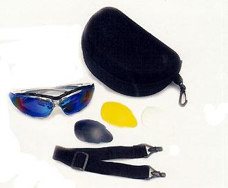 Separable interchangeable eyeglass frames - US Patent 5098180