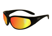 Hercules Unbreakable Padded Sunglasses with G-Tech Red Lenses