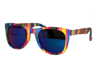 Kids Wayfarer Colored Sunglasses