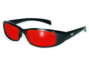 Red Lens Motorcycle Glasses