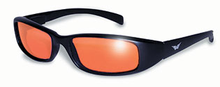 Orange Lens New Attitude Biker Glasses