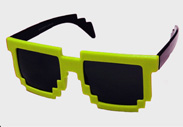 Minecraft Steve Sunglasses