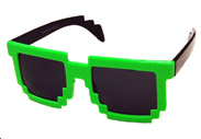 Minecraft Computer Game Sunglasses