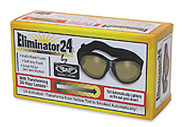 Eliminator 24 Light Changing lens goggles, global vision day to night eliminator 24 goggles