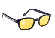 Yellow Lens Polarized KD's Biker Glasses