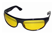 The Wrap MC Glasses with yellow lenses