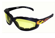 Padded Motorcycle Sunglasses Riding Glasses Foam Padding Motorcycle Bikerglasses