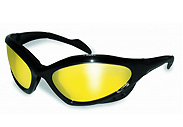 Yellow Lens Ansi Z87.1 Safety Motorcycle Glasses