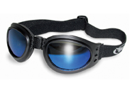 Folding Goggles with Blue Lenses