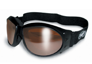 Eliminator Goggles by Global Vision Eyewear with copper anti glare driving lenses