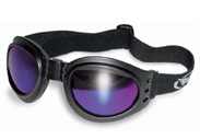 Folding Goggles with Purple Lenses