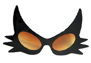 Novelty Halloween Sunglasses Party Glasses Mardi Gras Sunglasses