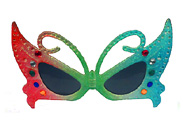 Green Jewel Butterfly Glasses